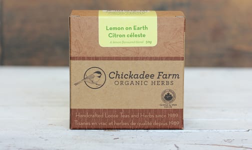 Organic Lemon On Earth Tea- Code#: DR1061