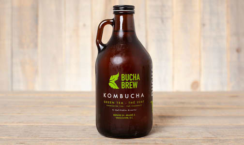 Green Tea Kombucha GROWLER- Code#: DR1075