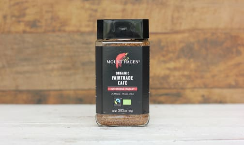 Organic Mount Hagen Instant Coffee- Code#: DR1084
