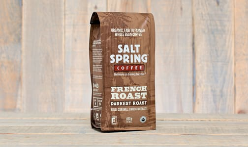 Organic French Roast Dark Coffee, Whole Bean- Code#: DR110