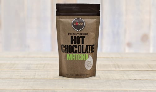 Organic Matcha Hot Chocolate- Code#: DR1127