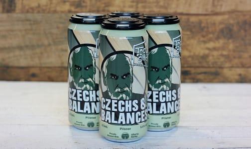 Czechs & Balances Pilsner - Cans - 5.4%- Code#: DR1129