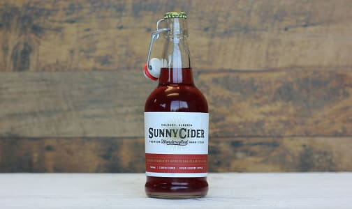 Sour Cherry Apple Cider - 4.5%- Code#: DR1134