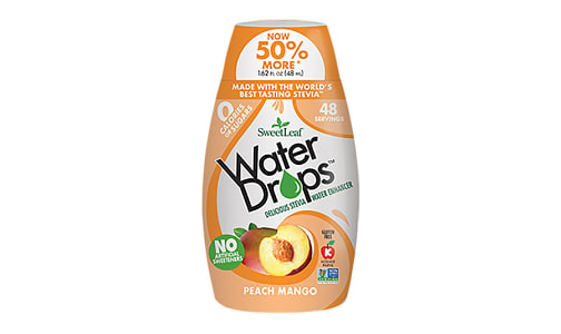 Water Enhancer Drops - Peach Mango- Code#: DR1180