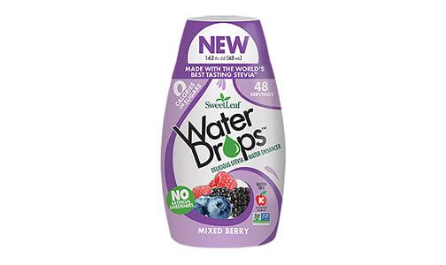 Water Enhancer Drops -  Mixed Berry- Code#: DR1183