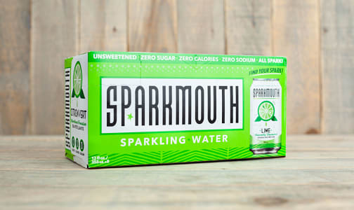 Sparkling Water - Lime- Code#: DR1233