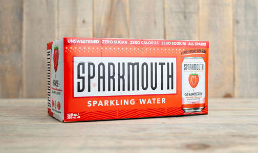 Sparkling Water - Strawberry- Code#: DR1234
