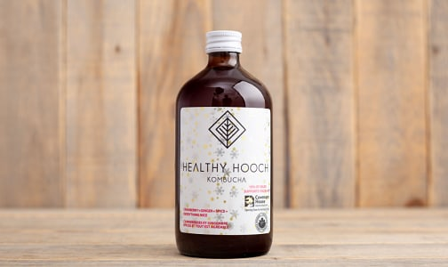 Organic Cranberry + Ginger + Spice+ Everything Nice Kombucha- Code#: DR1236