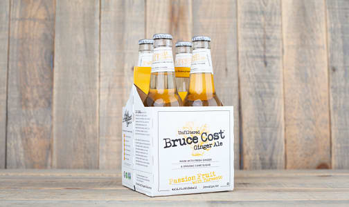 Unfiltered Passion Fruit with Turmeric Ginger Ale- Code#: DR1263