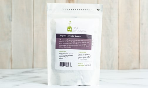 Organic Lavender Cream Loose Leaf Tea- Code#: DR1276