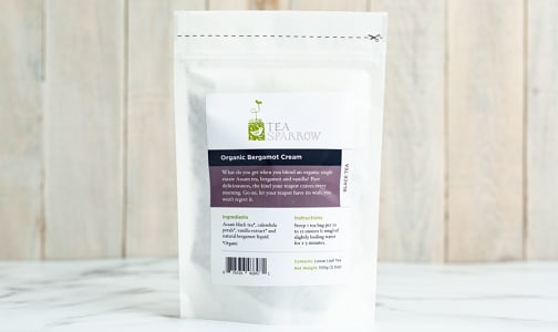 Organic Bergamot Cream Loose Leaf Tea- Code#: DR1277