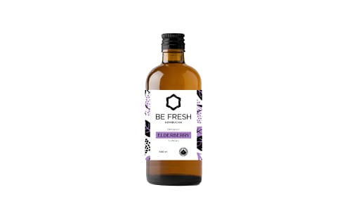 Organic Elderberry Kombucha (Seasonal)- Code#: DR1329