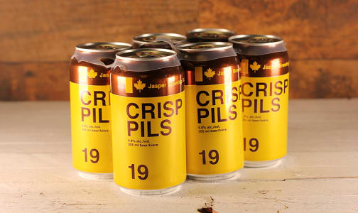 Jasper Brewing Co. - Crisp Pilsner- Code#: DR1363