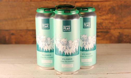 Banded Peak Brewing - Mt. Crushmore Pilsner- Code#: DR1376