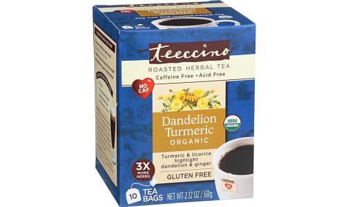 Organic Dandelion Turmeric Tea- Code#: DR1380