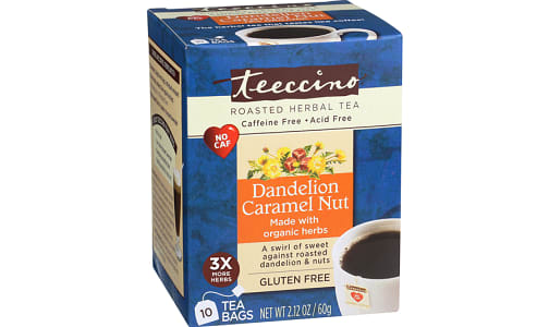 Caramel Nut Chicory Roasted Herbal Tea- Code#: DR1382