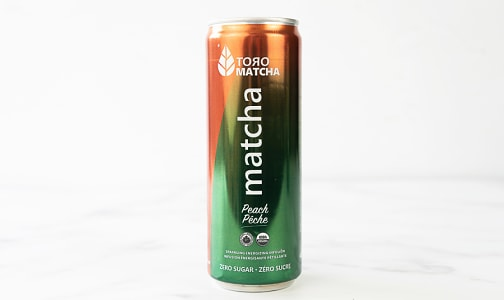 Organic Sparkling Matcha Peach- Code#: DR1387