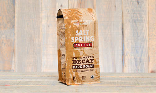 Organic Decaf Dark Coffee, Whole Bean- Code#: DR138