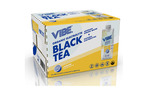 Organic Black Tea - Lemon- Code#: DR1391-CS