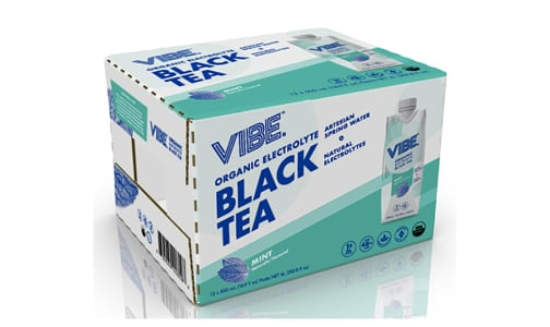 Organic Black Tea - Mint- Code#: DR1392-CS