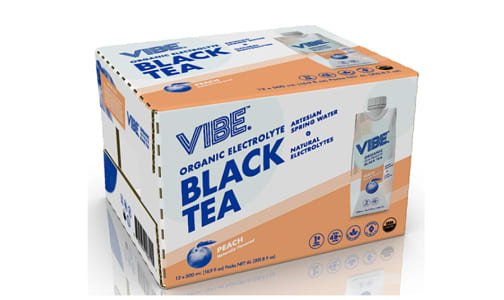 Organic Black Tea - Peach- Code#: DR1393-CS