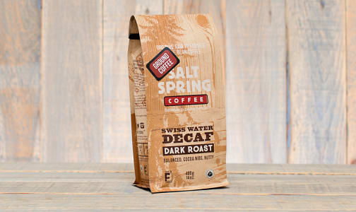 Organic Decaf Dark Coffee, Ground- Code#: DR139