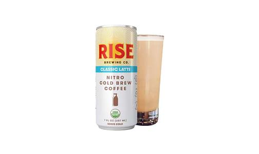 Organic Nitro Cold Brew Coffee - Classic Latte- Code#: DR1410