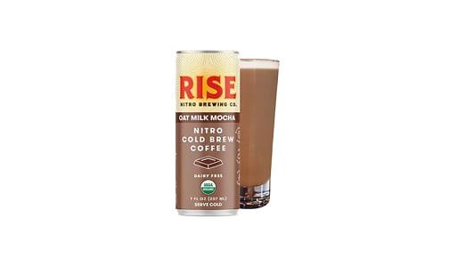 Organic Nitro Cold Brew Coffee - Oat Milk Mocha Latte- Code#: DR1411