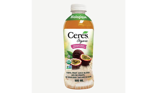 Organic Passion Fruit Juice- Code#: DR1458