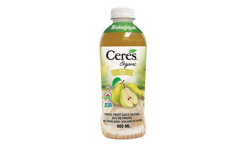 Organic Pear Juice- Code#: DR1460