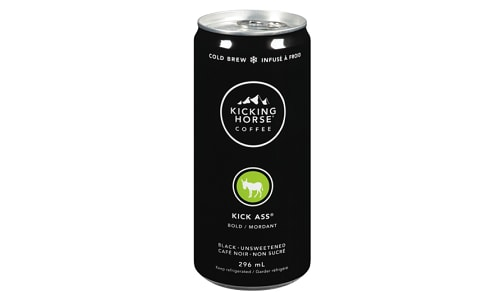 Organic Kick Ass Cold Brew Coffee- Code#: DR1464