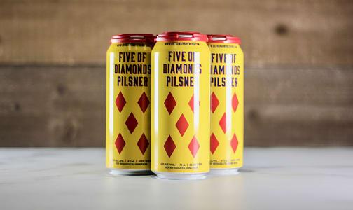 Five of Diamonds Pilsner- Code#: DR1591