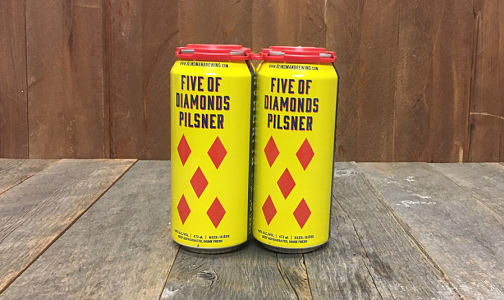 Five of Diamonds Pilsner- Code#: DR1591