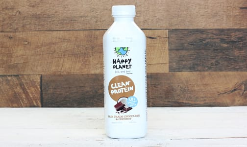 Clean Protein - Fairtrade Chocolate Coconut- Code#: DR1611