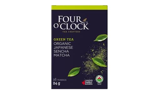 Organic Sencha Matcha Tea Bags- Code#: DR1637