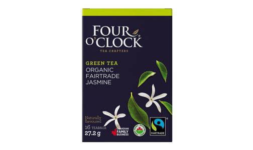 Organic Jasmine Green Tea Bags- Code#: DR1638