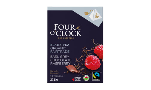 Organic Earl Grey Chocolate Berry Pyramid Tea Bags- Code#: DR1641