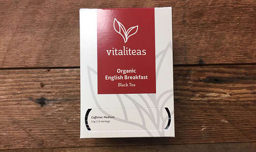 Organic English Breakfast- Code#: DR1647