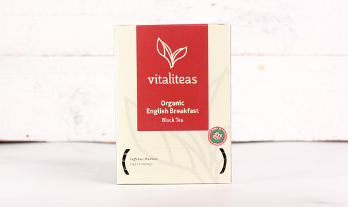Organic English Breakfast- Code#: DR1647