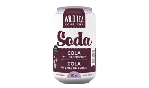 Cola with Elderberry- Code#: DR1685