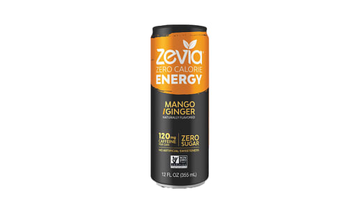 Energy Drink - Mango Ginger- Code#: DR1706
