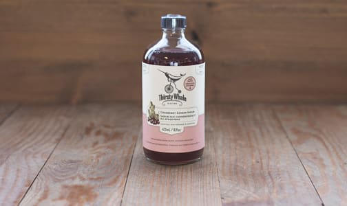 Cranberry Ginger Shrub - Concentrated Drink Mixers- Code#: DR1731