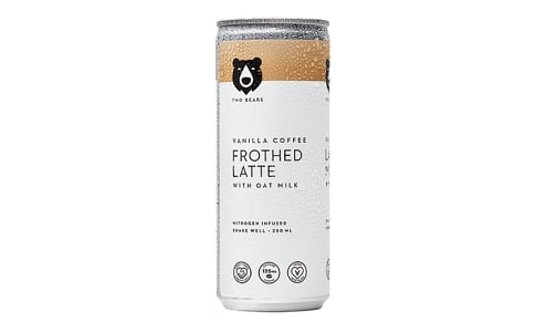 Canned Vanilla Frothed Latte- Code#: DR1740