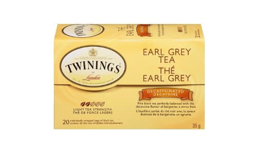 Earl Grey Decaf Tea- Code#: DR1834