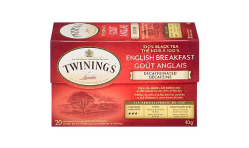 English Breakfast Decaf Tea- Code#: DR1837