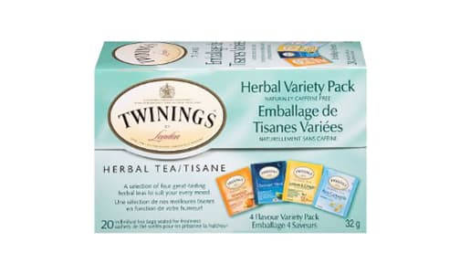 Herbal Tea Variety Pack- Code#: DR1838