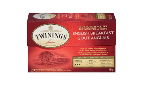 English Breakfast Tea- Code#: DR1840
