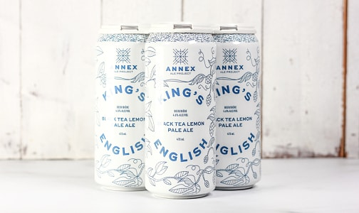 Annex Ale Project - King's English Black Tea Lemon Pale Ale- Code#: DR1877