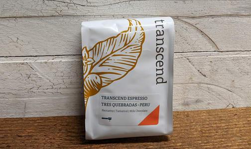 Transcend Espresso Tres Quebradas - Peru- Code#: DR1916