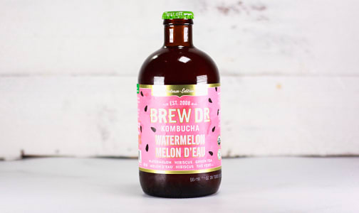 Organic Watermelon Kombucha - Seasonal- Code#: DR1918